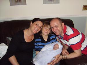 The Markham family in 2012 (East Anglia's Children's Hospices/PA)
