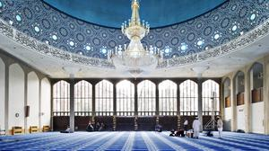 The London Central Mosque, Regent's Park, has been given Grade II* listed status (Historic England/PA)