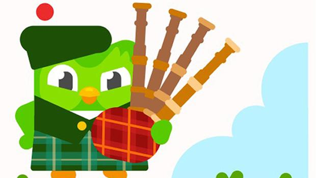 The new Scottish Gaelic course was released ahead of St Andrew's Day (Duolingo/PA)