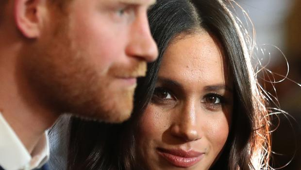 Prince Harry and Meghan Markle during a visit to Edinburgh (Andrew Milligan/PA)