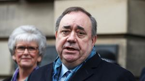 Alex Salmond was cleared of all charges (Andrew Milligan/PA)