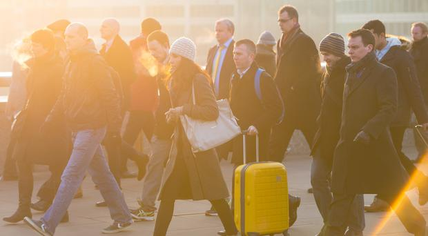 The UK services sector stagnated in December according to new IHS Markit figures (Dominic Lipinski/PA)