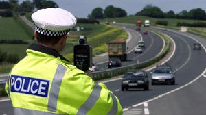 Police have warned drivers not to to flout the Government instruction (Andrew Parsons/PA)