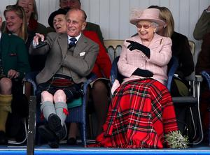 The Queen and the Duke of Edinburgh will not be able to enjoy the Braemar Gathering this year as the event has been called off (PA)