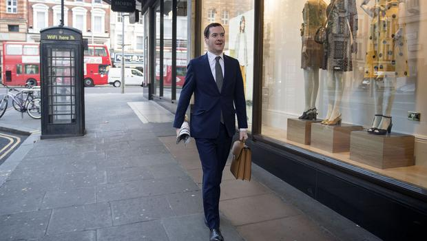 Former chancellor George Osborne is now editor of the London Evening Standard (Victoria Jones/PA)