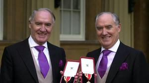 Three of Sir David Barclay's sons have filed their defence to Sir Frederick and his daughter Amanda's High Court against them over secret recordings made by a bug placed in the conservatory at the Ritz hotel (Michael Stephens/PA)