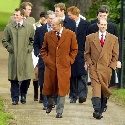The Royal Family traditionally attend church at Sandringham on Christmas Day.