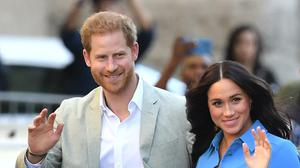Harry and Meghan are no longer senior working royals (Dominic Lipinski/PA)
