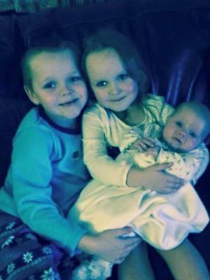 Brandon, Lacie and Lia Pearson died after a blaze at their home (Greater Manchester Police/PA