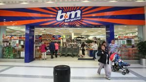 BandM Bargains said its customer count recovered after an 'initial decline during lockdown' (Paul Faith/PA)