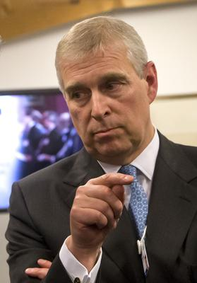 The Duke of York (Michel Euler/PA)