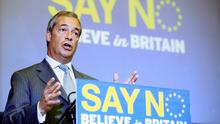 Ukip leader Nigel Farage is campaigning for Britain to leave the EU