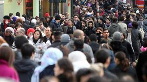 The UK's population is set to pass the 70 million mark by 2030, the ONS said (Lewis Whyld/PA)