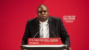 Shadow justice secretary David Lammy (Joe Giddens/PA)