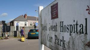 Five of the latest deaths were at the Royal Gwent Hospital in Newport (Barry Batchelor/PA)