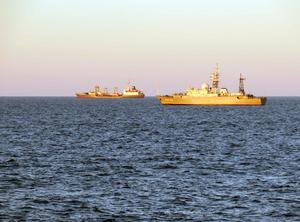 The Russian ships have been sailing around the Moray Firth (Royal Navy)