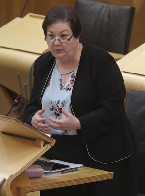 Scottish Labour MSP Jackie Baillie said the Scottish Government was 'completely arrogant' to pursue the legal defence against Alex Salmond (Fraser Bremner/Scottish Daily Mail/PA)