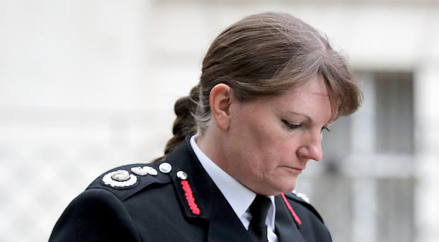 London Fire Brigade Commissioner Dany Cotton is stepping down from her role earlier than expected (Gareth Fuller/PA)