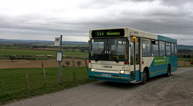 Bus travel in Britain excluding London has sunk to the lowest point on record (Nick Potts/PA)