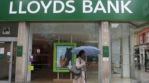 A dedicated telephone service for over-70s has been set up for customers of Lloyds Bank, Halifax and Bank of Scotland (PA)