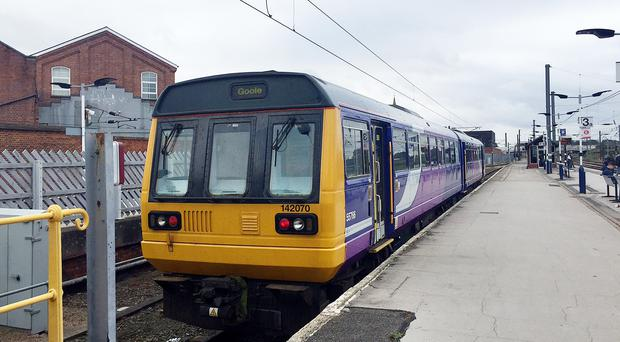 A Pacer train operated by Northern (Richard Woodward/PA)