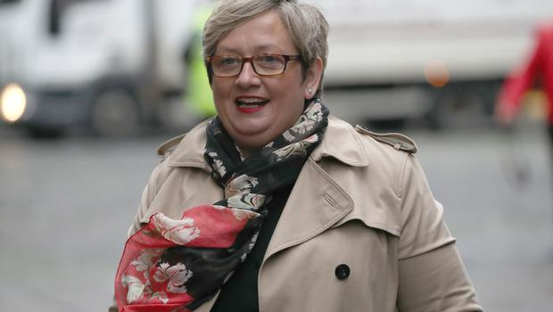 SNP MP Joanna Cherry outside the Court of Session in Edinburgh (Andrew Milligan/PA)