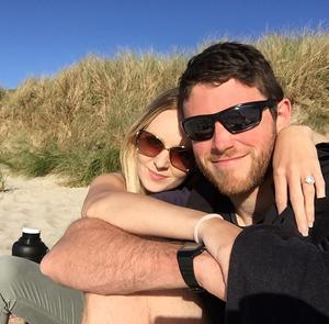 Andrew Harper and his wife, Lissie (Thames Valley Police/PA)