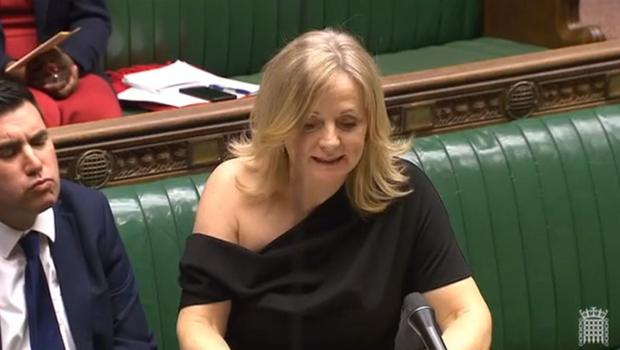 Tracy Brabin speaking in the Commons (PA)