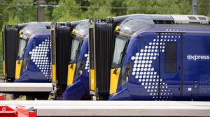 New trains have been introduced to ScotRail (Ross Brownlee/SNS)