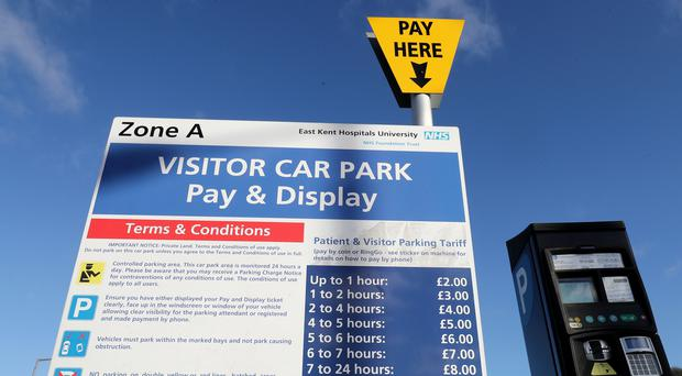 Hospital parking charges will be scrapped for some patients (Gareth Fuller/PA)