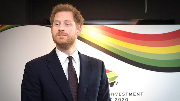 The Duke of Sussex attends the UK-Africa Investment Summit at the Intercontinental Hotel London (PA)