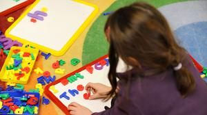 Childcare and early learning is to be expanded by 2020 (Dominic Lipinski/PA)