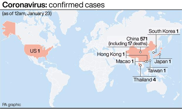 World Health Organization  says coronavirus outbreak is NOT an global  emergency