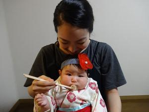 Embargoed to 0001 Friday February 22Undated handout photo issued by WaterAid of Natsumi, 29, feeding her daughter Miwa, four weeks old, during Okuizome, a first food ceremony that takes place in Japan. PRESS ASSOCIATION Photo. Issue date: Friday February 22, 2019. The new collection of images demonstrates different cultural traditions for welcoming babies and protecting new mothers from around the world. See PA story HEALTH Babies. Photo credit should read: WaterAid/Kodai/PA WireNOTE TO EDITORS: This handout photo may only be used in for editorial reporting purposes for the contemporaneous illustration of events, things or the people in the image or facts mentioned in the caption. Reuse of the picture may require further permission from the copyright holder.