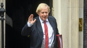 Prime Minister Boris Johnson leaves 10 Downing Street (Kirsty O'Connor/PA)