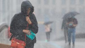 A yellow weather warning for heavy showers and thunderstorms has been issued for Friday (Dominic Lipinski/PA)