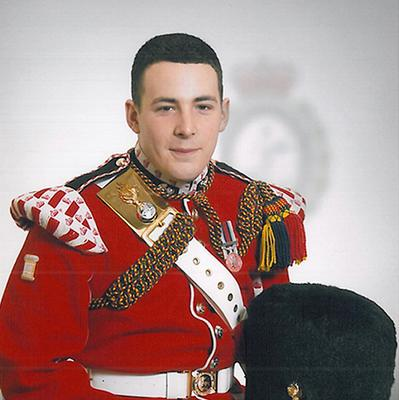 Fusilier Lee Rigby, who was murdered in the street in Woolwich, south east London.