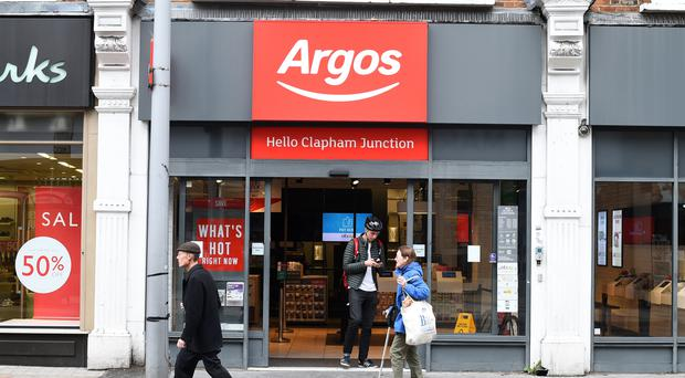 Argos deliveries could be disrupted for 16 days over Christmas after UPS staff at one of the retailer's distribution sites voted in favour of strike action (Kirsty O'Connor/PA)