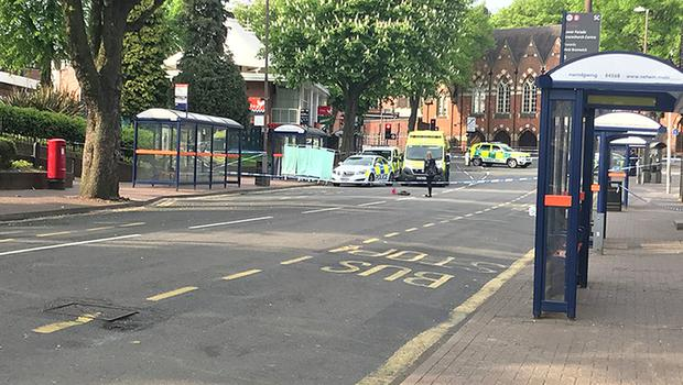 Police activity at the scene in Sutton Coldfield where a 16-year-old was found with serious stab wounds and later pronounced dead (Phil Barnett/PA)