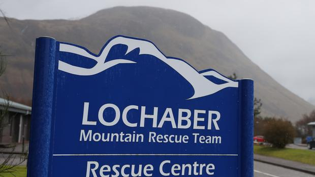 Lochaber Mountain Rescue team said the men had no ice axes, crampons and apparently no map (Andrew Milligan/PA)