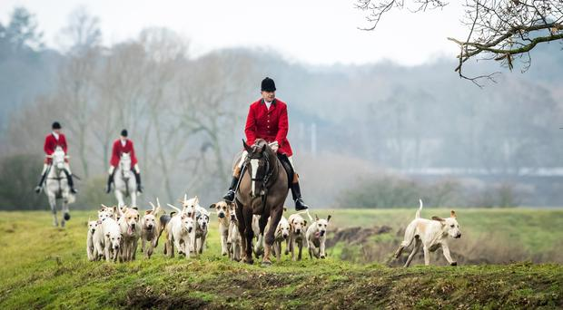 Dozens of Boxing Day hunts will take place across the UK (Danny Lawson/PA)