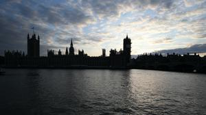 Sunset over the Houses of Parliament in Westminster, London (Jonathan Brady/PA)
