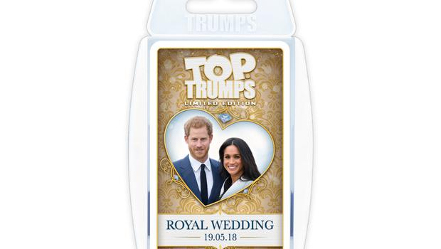 The limited edition Royal Wedding Top Trumps (Winning Moves/PA)