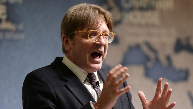 Guy Verhofstadt hit out at the 'bureaucratic' process (Yui Mok/PA)