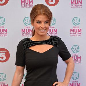 Mum of the Year ambassador Coleen Rooney arrives at the Tesco Mum of the Year Awards, celebrating Britain's most inspirational mothers, at The Savoy Hotel in central London.