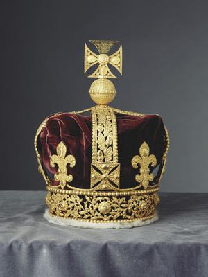 George IV's cast of the Imperial State Crown (Royal Collection Trust/Her Majesty Queen Elizabeth II 2019/PA)