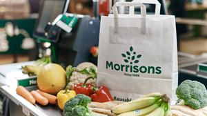 Morrisons is selling paper bags for 20p (Mikael Buck/Morrisons/PA)