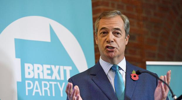 Nigel Farage says the Tories have made overtures to him (Stefan Rousseau/PA)