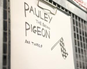 The temporary home for Pauley the pigeon onboard HMS Queen Elizabeth (LPhot Luke/PA)