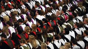 There has been a 16% rise in graduate vacancies in the past year